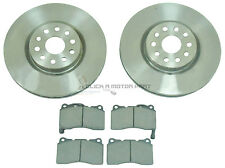 ALFA ROMEO 166 2.4 2.5 3.0 1998-2005 FRONT 2 BRAKE DISCS AND PADS SET NEW