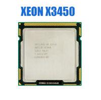 Intel Xeon X3450 Desktop CPU Quad-Core 2.66GHz 8MB DMI 2.5GT/s LGA 1156 Used CPU