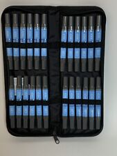 Artist's Loft Dual Tip Markers 24 Pieces Alcohol Based Dyestuff Ink-Canvas Case