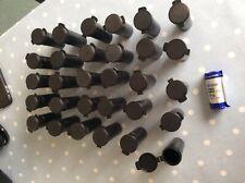 Fuji Film Velvia 120 film containers