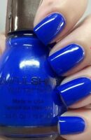 SINFUL SHINE WITH GEL TECH  PROFESSIONAL NAIL POLISH #1242 MOST SINFUL( 1pc)Blue