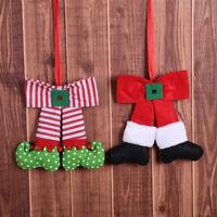 Fj- LN _ Piacevole Fiocco Albero di Natale Ornamento da Appendere Festa Casa