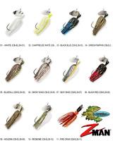 Z-MAN Chatterbait Elite 3/8oz Bladed Vibrating Swim Jig CB-EL38 Any 11 Colors