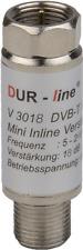 4 x Dur-Line Inline Verstärker Sat Verstärker V 3018 18 db HDTV DVB-T 4k