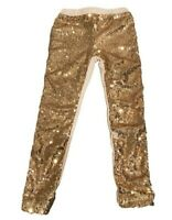 Juicy Couture Gold Glitter Sweatpants Girls Size 6