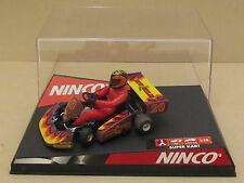 Super Rare NINCO 50239 Go Kart F-1 Series Purple #28 Hot Chilis 1:32 Slot Car