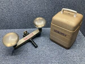 Vintage Bell and Howell 253 AX Movie Projector w/ Light 8 mm Tested Works