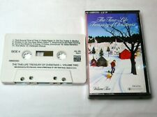 THE TIME LIFE TREASURY OF CHRISTMAS VOLUME TWO CASSETTE TAPE TESTED