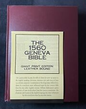 The 1560 Geneva Bible First Edition The Bible Museum First Printing 2006 Edition
