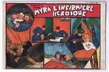 Récit complet. Collection L'AUDACIEUX n°2 MYRA L'infirmière héroïque. 1937