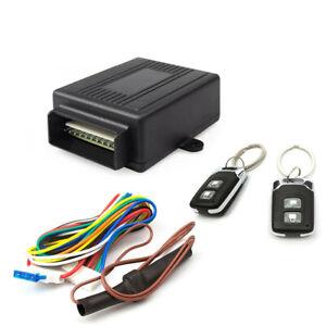 Keyless Entry System Universal Car Remote Central Kit Door Lock Vehicle  DC 12V