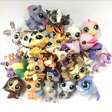 Random 10x 1'' Littlest pet shop LPS Mini Figure Toys Boys Girls Baby Doll HA365