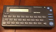 TI Texas Instruments Spell Checker Model RR-1  Retro Vintage Spelling Handheld