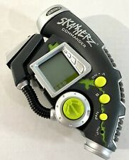 Vintage Radica Skannerz Commander Handheld Monster Game Gray Green 2001