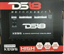 Ds18 - Keq5 - Five Band Graphic Equalizer Six Channel