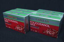 6 X Costar Policosanol Sugarcane Sugar cane Wax Alcohols 12mg 60 capsules