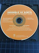 Assembly of Dust's: The Honest Hour Promo Preview 2 Track (New CD) PHISH Moe.