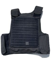 Dutch Special Forces Black Molle Plate Carrier