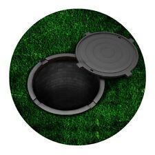 Green Holes Non Slip Floor Rugs Novetly Small Bedroom Kitchen Mat Round 60*60