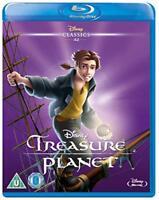 Treasure Planet [Blu-ray] [Region Free] [DVD][Region 2]