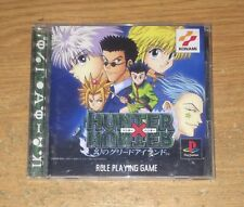 Hunter X Maboroshi Greed Island Playstation 1 Game Complete Fun Japan Import PS1
