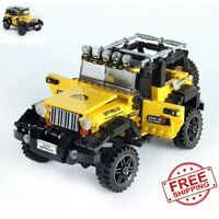 LEGO Technic Jeep Wrangler New 2021 (610 pcs) Educational Compatible with Block