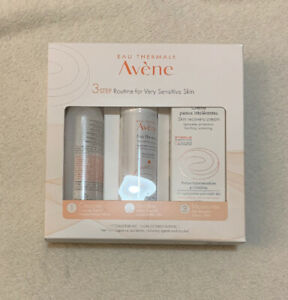 Avene 3 Step Routine for Very Sensitive Skin New In Boxed
