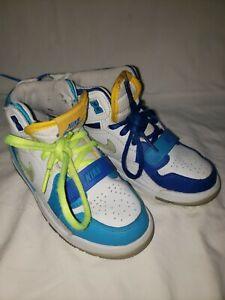 YOUTH NIKE JORDAN LEGACY 312 WHITE BLUE CI4450 400 BOY'S BASKETBALL SNEAKERS 12c