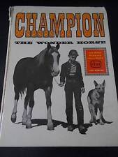 1960 Childrens Annual Champion the Wonder Horse with Rebel Ricky & Uncle Sandy