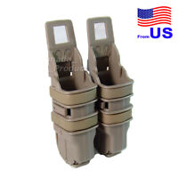 Tactical Fast Pistol Magazine Pouch Holster Attach Molle System Holder DE USA
