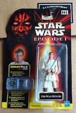 Star Wars Episode 1 Obi-wan Kenobi With Lightsaber Collection 3 Hasbro on Card