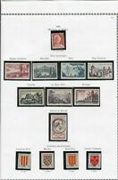 france 1955 stamps page ref 19805