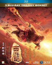 "Aaron Kwok ""Monkey King Trilogy"" Soi Cheang Action Region A Blu Ray Boxset"