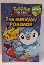 The Runaway Pokemon & Meet Cyndaquil Flip Over Scholastic Book 2011