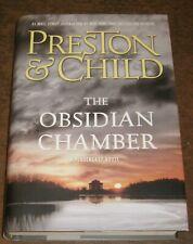 THE OBSIDIAN CHAMBER Preston & Child HC/DJ Pendergast SIGNED BY BOTH +