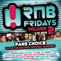 RNB FRIDAYS VOLUME 2 Fans Choice - Feat. Ice Cube, Usher [New & Sealed] 2 CDs