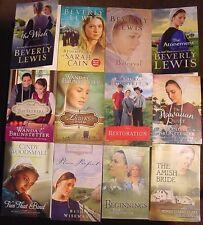 Wanda Brunstetter, Beverly Lewis, Beth Wiseman+~Lot 13 Amish Romance TPB~LN