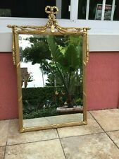 Friedman Brothers French Louis Xv Style Gold Gilt Wall Mirror
