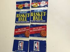 1991 FLEER BASKETBALL RAK PACKS ( 2 PACK LOT )