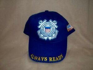 Coast Guard, 100% Cotton, Embroidered Ball Cap