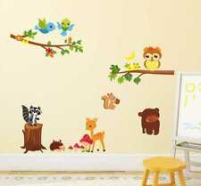57000257 | Wall Stickers Lovely Jungle Theme For Kids Room