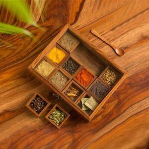 Masala Daani Namak Dani Dabba Multipurpose Decorative Boxes 12 Containers