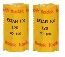 2 Rolls x KODAK PRO Ektar 100 ISO 120 Medium Format Color Negative C-41 Film