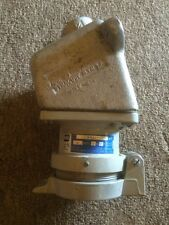 Crouse Hinds AR-331 Receptacle 30 Amp 250VDC  ARE 23 Condulet Conduit Box  3