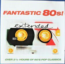 FANTASTIC 80s! EXTENDED  VARIOUS ARTISTS 2 x CD Discs. VGC.