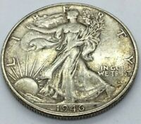 XF Walking Liberty Half Dollars (1916-1947) 90% Silver, Choose How Many!