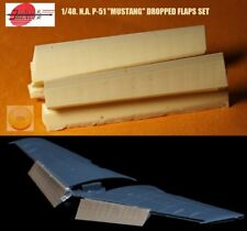 """1/48. N.A. P-51 dropped flaps resin set, by """"A.M.U.R. reaver"""" RC4825"""