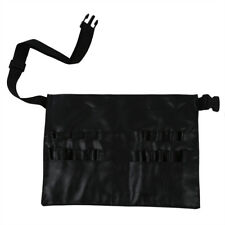 PVC Cosmetic Makeup Brush Apron with Artist Belt Strap Professional Bag S9E T5O5