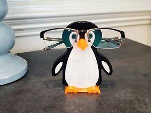 Pete the Penguin Eyeglasses Holder, Penguin Glasses Holder, Glasses Stand