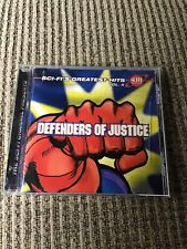 Sci-Fi's Greatest Hits, Vol. 4: Defenders of Justice OOP CD, 37TRX, TVT 1998
